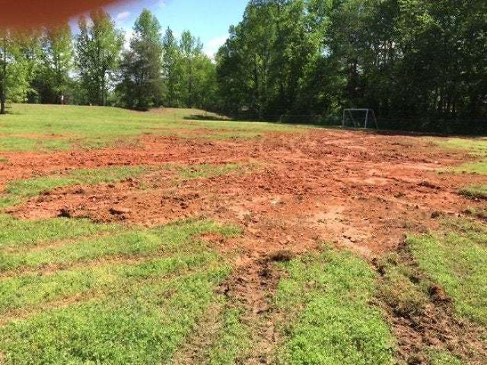 people being jerks truck destroys field