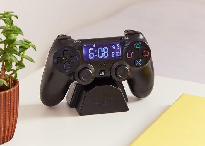 playstation alarm clock firebox