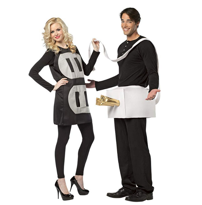 plug and socket costumes