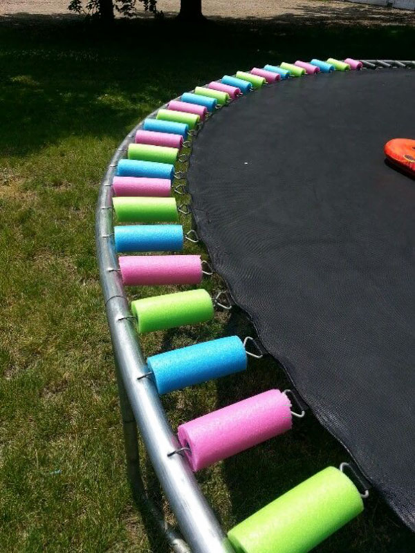 pool noodle protection for injuries parenting hacks tricks tips