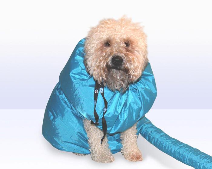 puff-n-fluff dog dryer jacket flex tube
