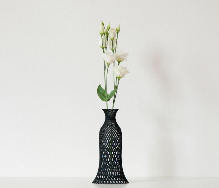 sample vase 3d vases recycling plastic bottles libero rutilo