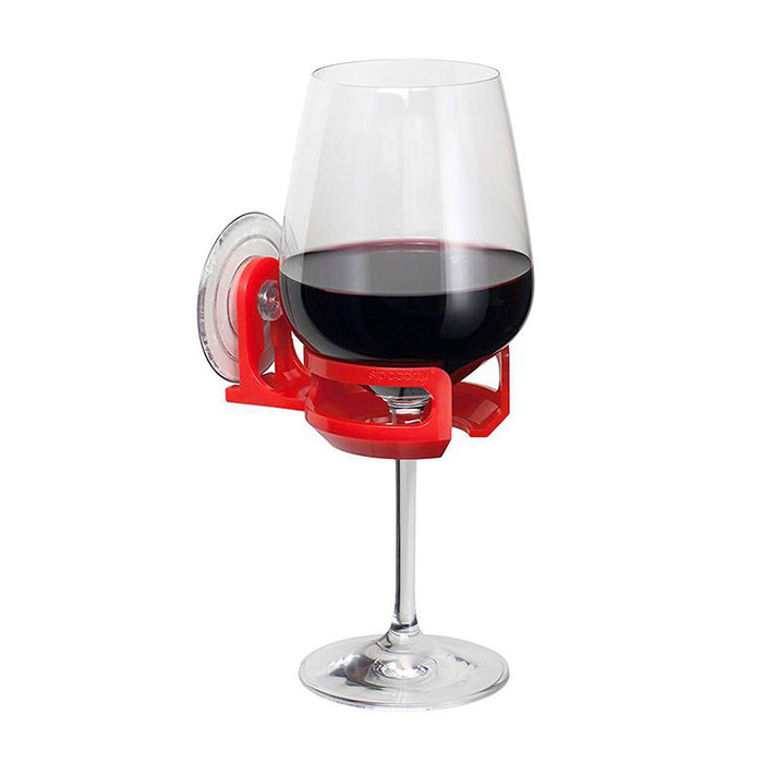 shower cupholder perfect wine gifts