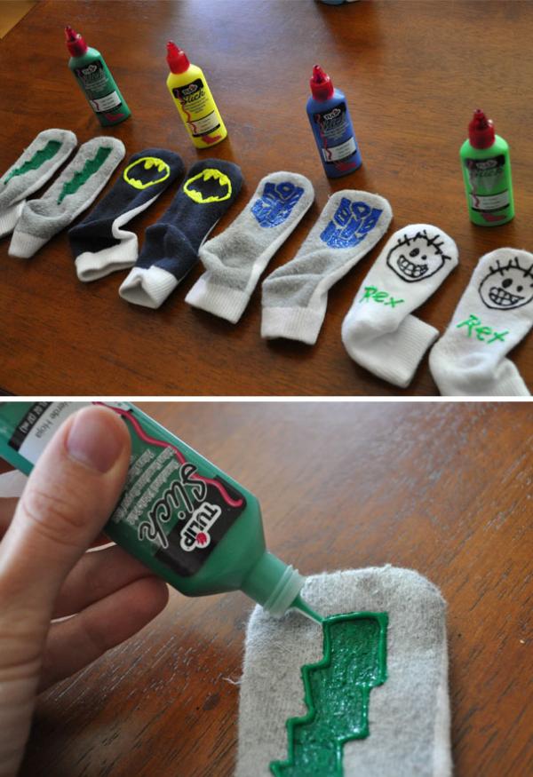 socks art for slipping parenting hacks tricks tips