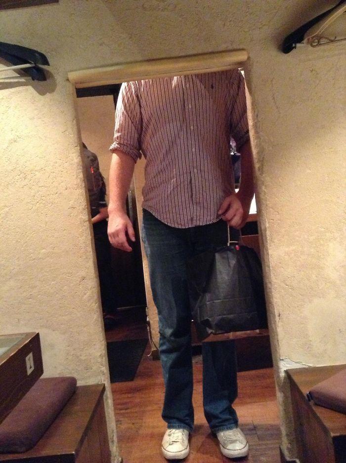 tall people problems japan doorway