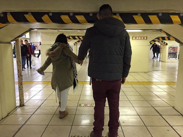 tall people problems japan subway