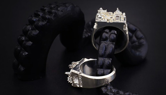teti silver architecture rings