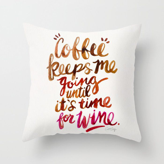 throw pillow cover perfect wine gifts