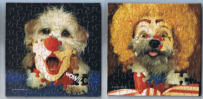 tim klein montage puzzle art bow wow