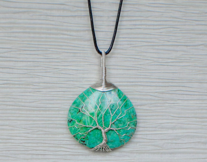 turquoise recycled beautifully wire jewelry