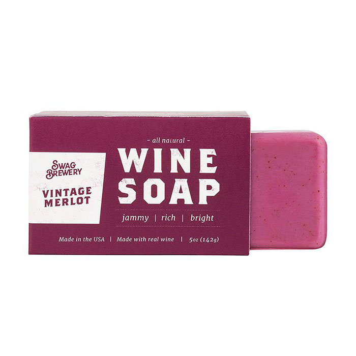vintage merlot soap perfect wine gifts