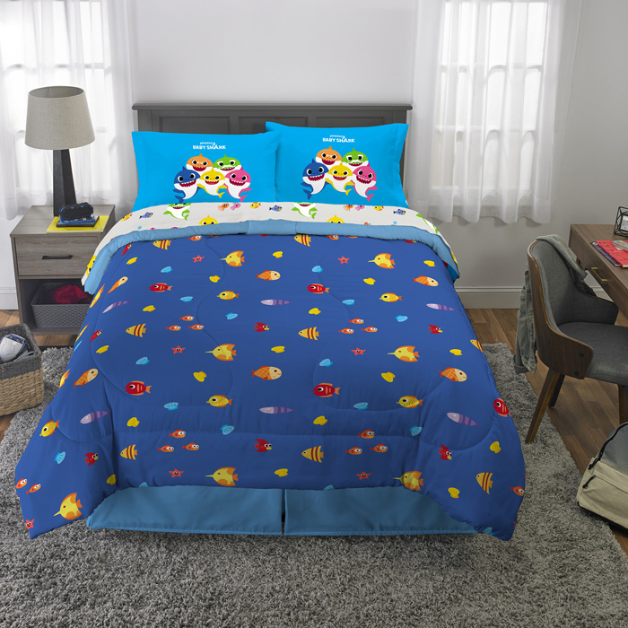 walmart exclusive baby shark bedding complete set full
