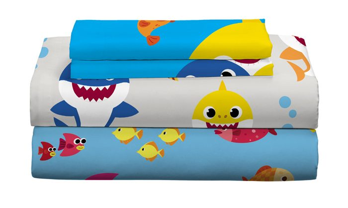 walmart exclusive baby shark bedding sheet set