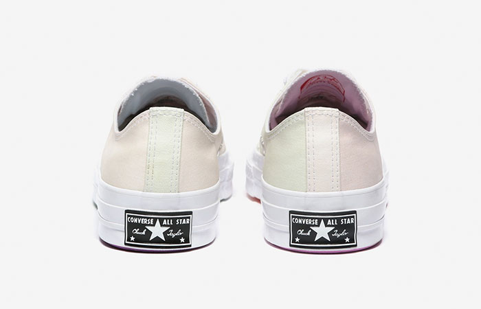 white canvas back view color changing converse shoes uv activated chinatown market