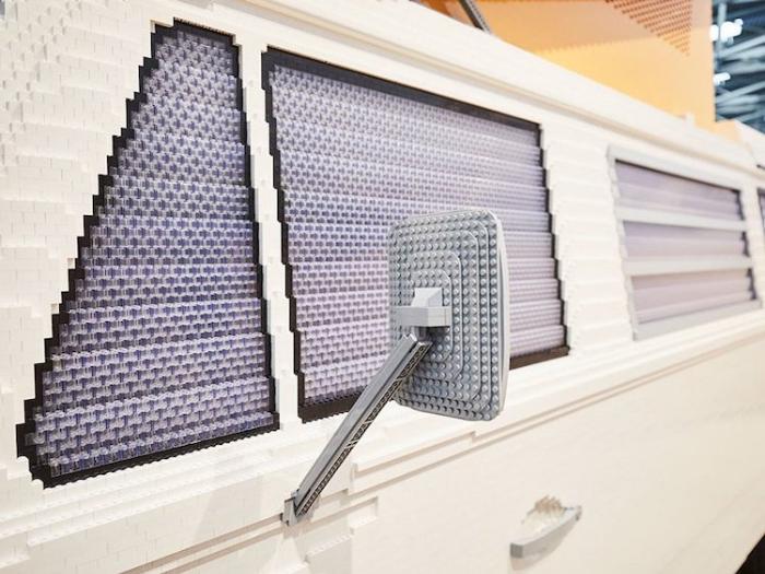 windows full size LEGO Volkswagen Camper