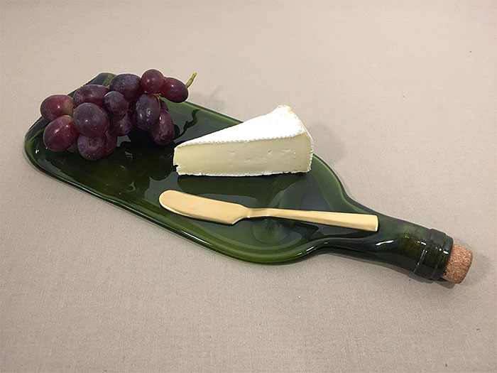 wine bottle cheese spreader