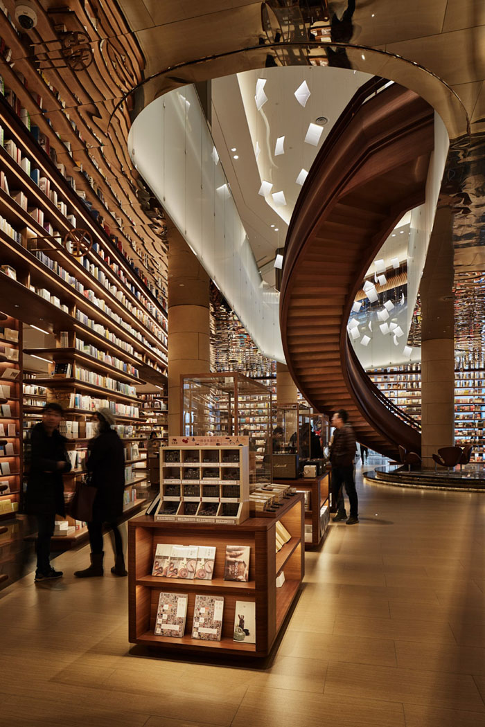 yjy maike centre flagship bookstore hospitable ambience