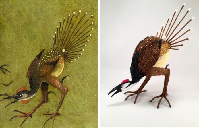 2d vs 3d peacock strange bosch pinatas robert benavidez