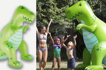 Giant Inflatable Dinosaur Sprinkler