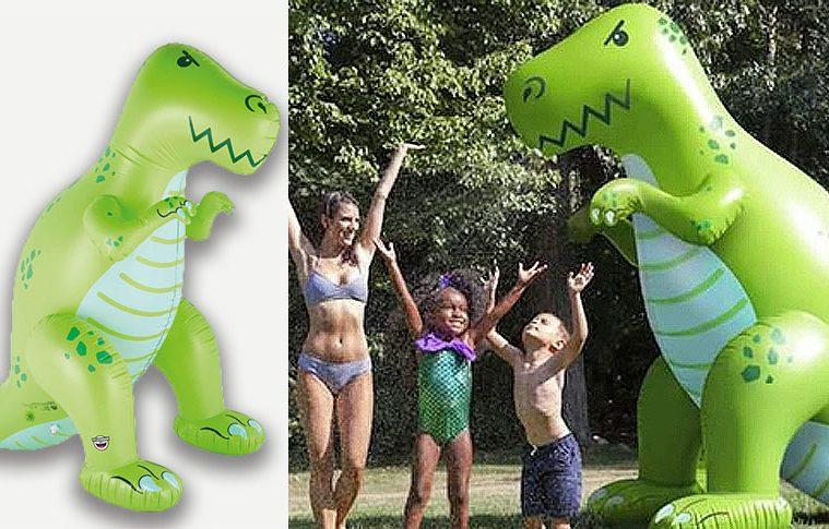 Giant Inflatable Dinosaur Sprinkler