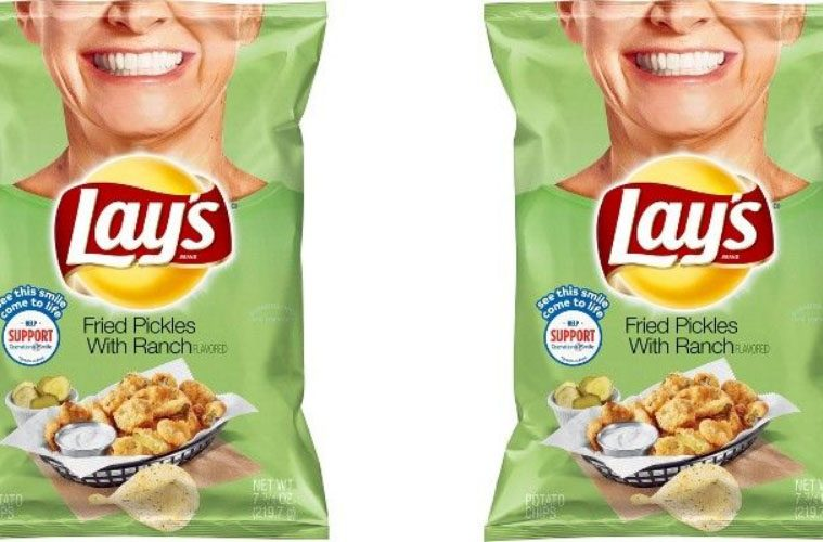 Lay's Fried Pickles with Ranch Chips