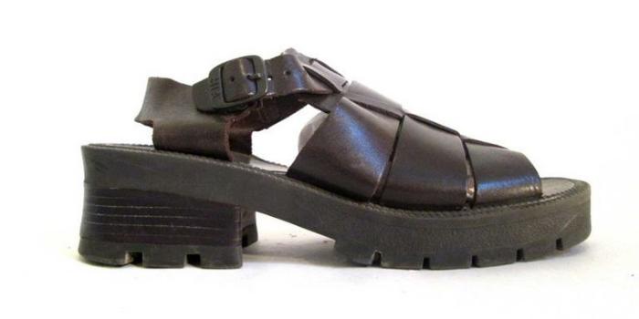 MIA chunky sandals shoe nostalgia