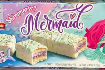 Shimmering Mermaid Cakes