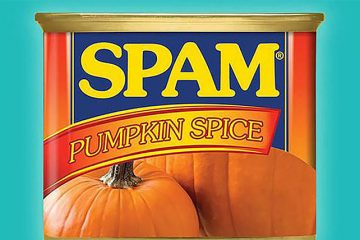 Spam pumpkin spice