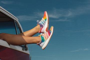 adidas and nice kicks tie dye ultraboost woodstock sneakers