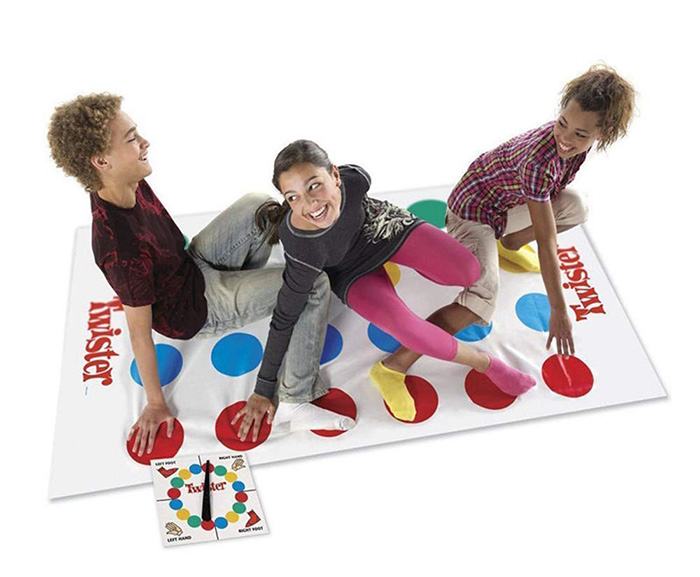 amazon classic twister mat hasbro
