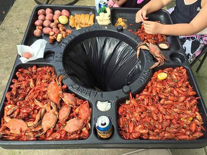 amazon crawfish table