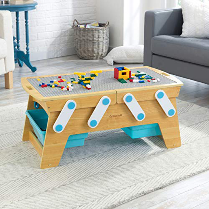 amazon lego compatible play n store table