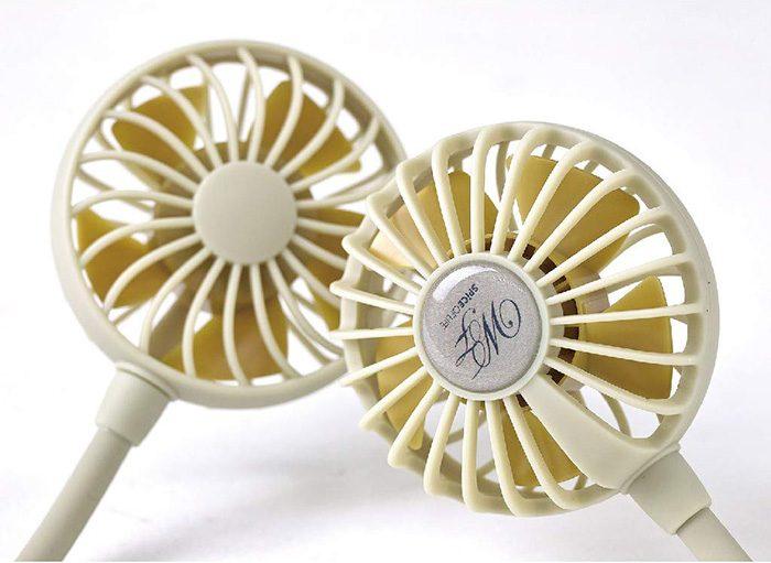 amazon portable neckband fan plastic blades
