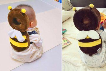 baby bee head protector