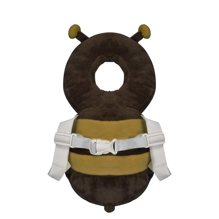 bee-shaped baby backpack head protector