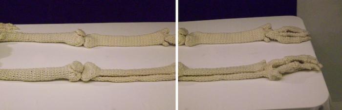 bones legs crochet skeleton shanell papp