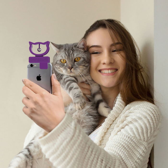 bubblegum stuff cat selfie device