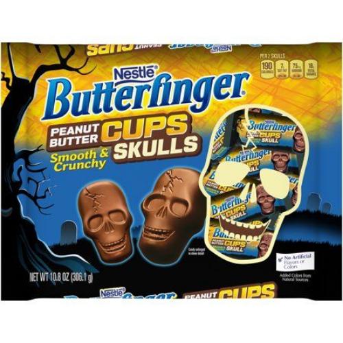 butterfinger peanut butter cups skulls best new halloween candy