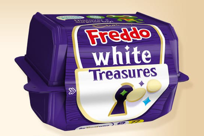 cadbury freddo white treasures