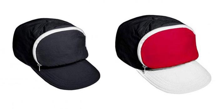 cap-sac fanny pack hat black