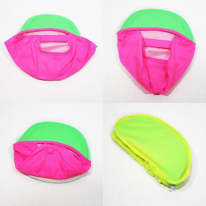cap-sac fanny pack hat foldable