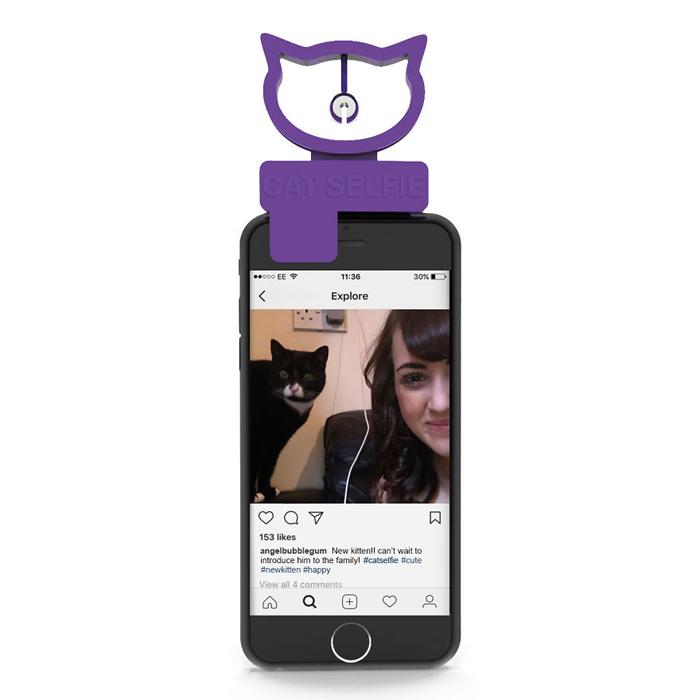 cat selfie device bubblegum stuff