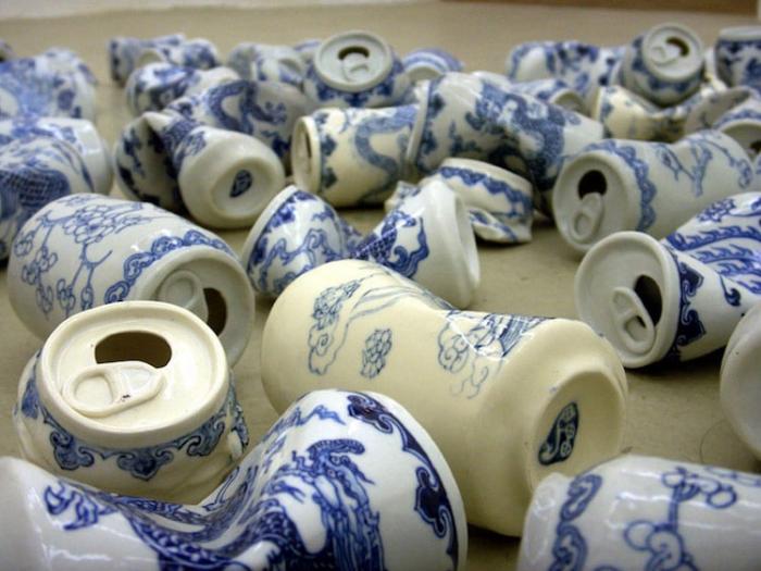 ceramics plus modern touch lei xue drinking tea