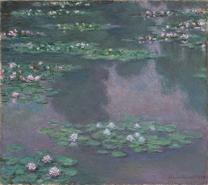 claude monet water lilies series