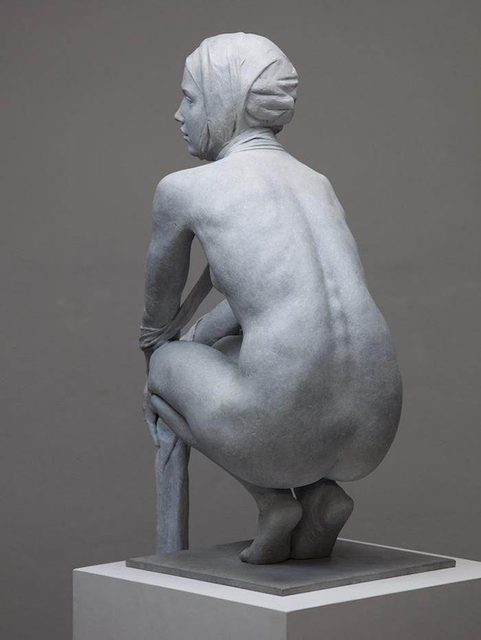 coderch malavia lifelike human sculptures tissue of time back