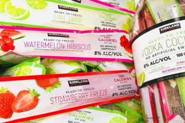 costco kirkland signature vodka cocktails ice pops