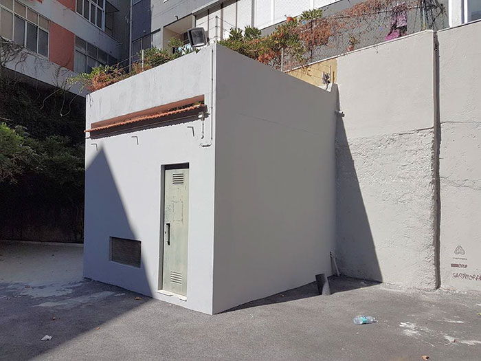 cube bare graffiti object transformations bus artist odeith