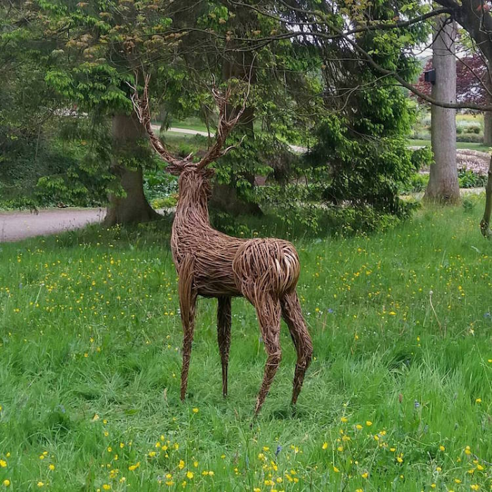 deer outdoor sculptures anna and the willow