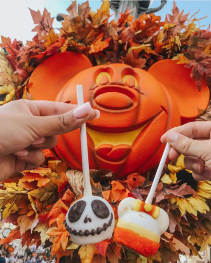 disney halloween inspired menu treats