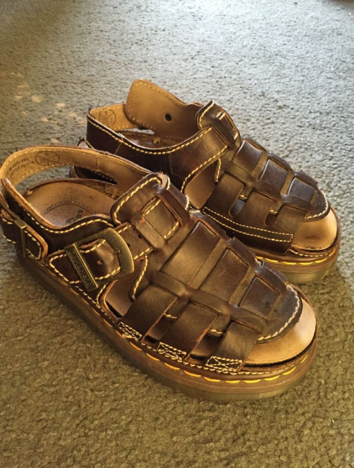 doc martens sandals shoe nostalgia